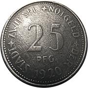 25 pfennig (Zwiesel) – avers