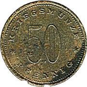 50 Pfennig (Weissenburg) [Stadt, Bayern] – revers