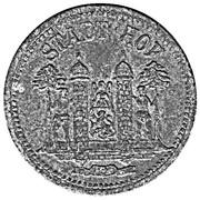 50 Pfennig (Hof) – avers