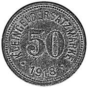 50 Pfennig (Hof) – revers