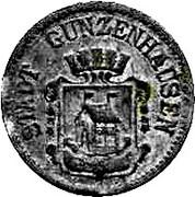 50 Pfennig (Gunzenhausen) [Stadt, Bayern] – avers