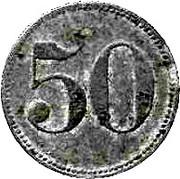 50 Pfennig (Gunzenhausen) [Stadt, Bayern] – revers