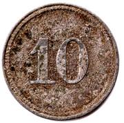 10 Pfennig Helgoland (Schleswig-Holstein) – revers