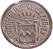 10 Pfennig (Gerolzhofen) [Stadt, Bayern] – avers