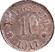 10 Pfennig (Gerolzhofen) [Stadt, Bayern] – revers
