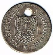 5 pfennig NEURUPPIN – avers