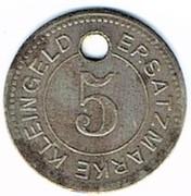 5 pfennig NEURUPPIN – revers