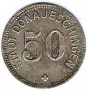 50 pfennig DONAUESCHINGEN – avers
