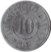 10 pfennig (Eduard Meyer) [Stadt Friedrichswerth] – revers