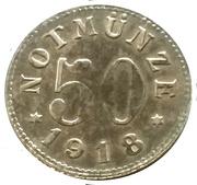 50 pfennig  (Schauenstein) – revers