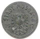 5 Pfennig  Mosbach – avers