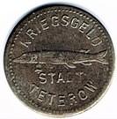 5 pfennig Teterow – avers