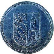50 Pfennig (Günzburg) [Stadt, Bayern] – revers