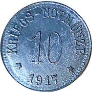 10 Pfennig (Leipheim) [Stadt, Bayern] – revers
