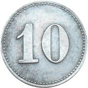 10 Pfennig Albersweiler [Private, Phalz, Zundholzfabrik] – revers