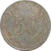 50 Pfennig (Altdamm) [POW, Pommern] – revers