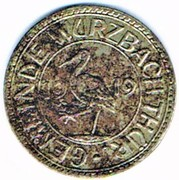 50 pfennig 1919 Wurzbach i. Thür (Reuss jüngere Linie) – avers