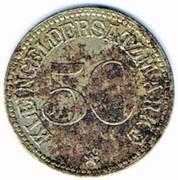 50 pfennig 1919 Wurzbach i. Thür (Reuss jüngere Linie) – revers
