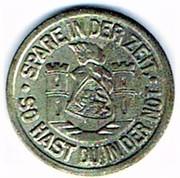 5 pfennig 1920 Spremberg (Brandenburg) – revers