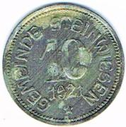 10 pfennig 1921 Steinwiesen (Bayern) – avers