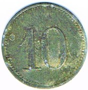 10 pfennig 1917 Stein b. Nbg. (Bayern) – revers