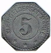 5 pfennig Stendal (Provinz Sachsen) – revers