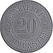 20 Pfennig Neumünster [Private, Schleswig-Holstein, Bankverein] – avers