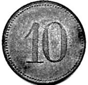 10 Pfennig (Karlstadt)[Bavaria] – revers