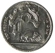 50 Pfennig (Regensburg) [Strassenbahn, Bayern] – avers