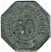 50 pfennig Elmshorn – revers