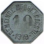 10 pfennig Meuselbach – avers