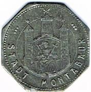 5 Pfennig (Montabaur) [Stadt, Hessen-Nassau] – avers