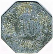 10 pfennig Mühlhausen i. Thür – avers