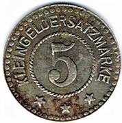 5 pfennig 1722 Schwerin – revers