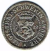 10 pfennig 1722 Schwerin – avers