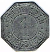 1 pfennig 1918 Selb – avers