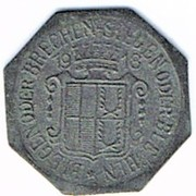 1 pfennig 1918 Selb – revers