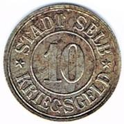 10 pfennig 1918 Selb – avers