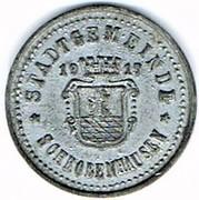 10 pfennig Schrobenhausen – avers
