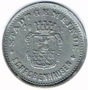 20 pfennig Schrobenhausen – avers