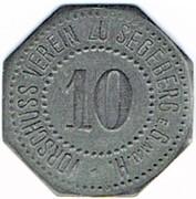 10 pfennig Segeberg – avers