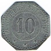 10 pfennig Segeberg – revers