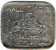 50 pfennig 1918 Hall – avers
