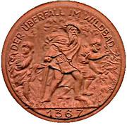 200 Mark (Bad Wildbad) [Baden] – revers