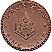 1 Mark (Naunhof)[Stadt, Saxony] – avers