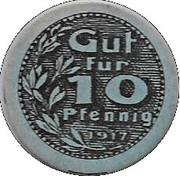 10 Pfennig (Neuburg a. D.)[Private, Gewerbebank] – avers