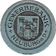 10 Pfennig (Neuburg a. D.)[Private, Gewerbebank] – revers