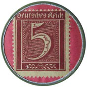 5 Pfennig (Settrup) [Private, Hannover, Tebbenhoff] – revers