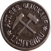5  Pfennig (Lichtenau/Zareba) [Private, Schlesien, Act.Ges. Glück Auf] – avers