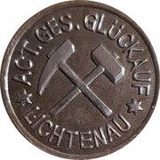50 Pfennig (Lichtenau/Zareba) [Private, Schlesien, Act.Ges. Glück Auf] – avers
